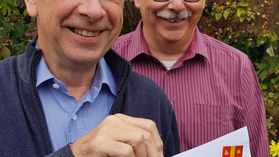 Clubmannen Hans en Jan